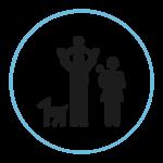 Icône famille Services Droit des Jeunes