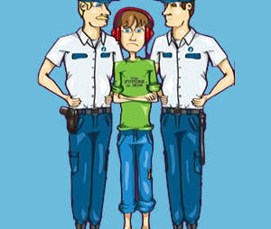 MINEUR face à la POLICE