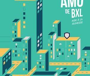La nouvelle carte des AMO de Bruxelles